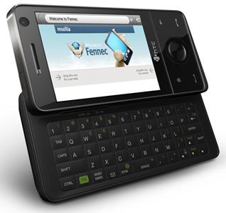 手机版Firefox在宏达Touch Pro上的演示图