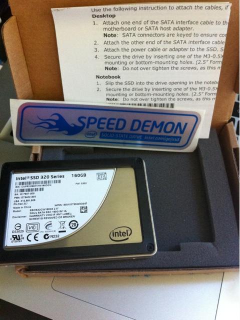 SSD 到手